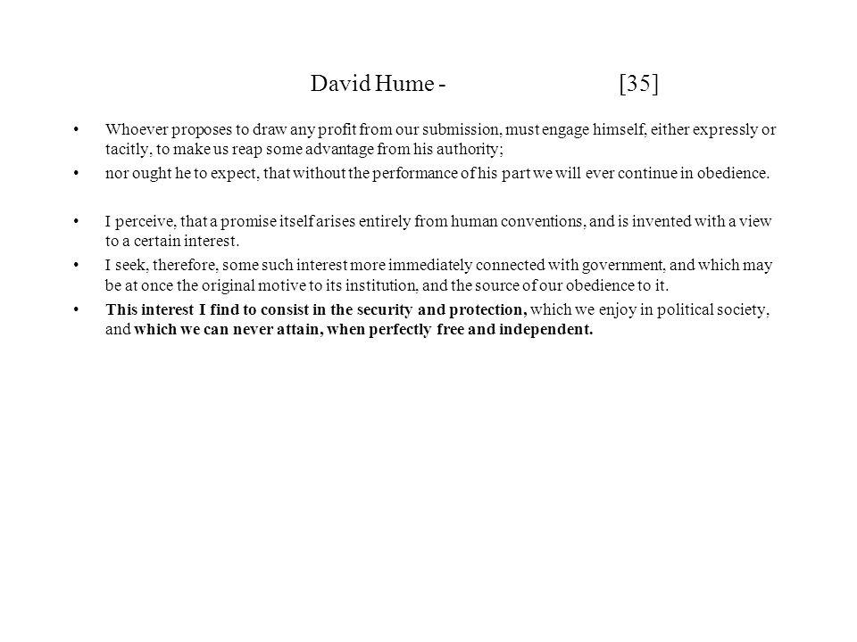 David Hume - [35]